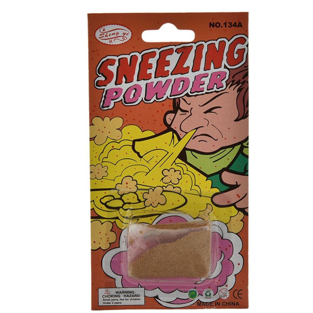 New Funny Gags Practical Jokes Sneezing Powder Trick Toys Kids Gifts April Fool Joke Gags Trick Toys