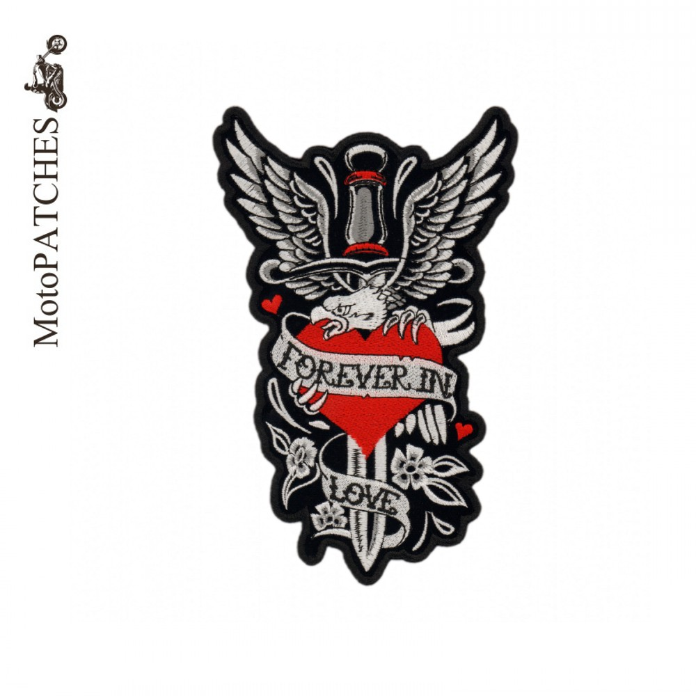 Motopatches love eagle motorcycle jacket biker patches for motopatches love eagle motorcycle jacket biker patches for clothing iron embroidered badges patches in patches from home garden on aliexpress buycottarizona Gallery