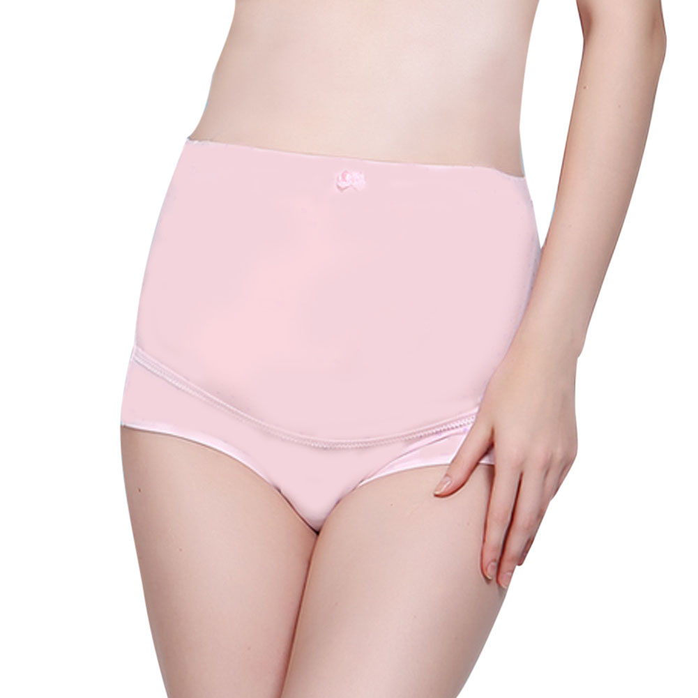 New Arrival Adjustable Elastic Soft Cotton Pregnant Women Underwear Breathable Belly Support Panties Maternity Supplies