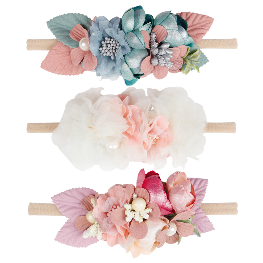 Hair Accessories Obliging Womens Kids Girls Boho Flower Floral Hairband Headband Crown Party Wedding Beach 6 Colour Girls' Baby Clothing