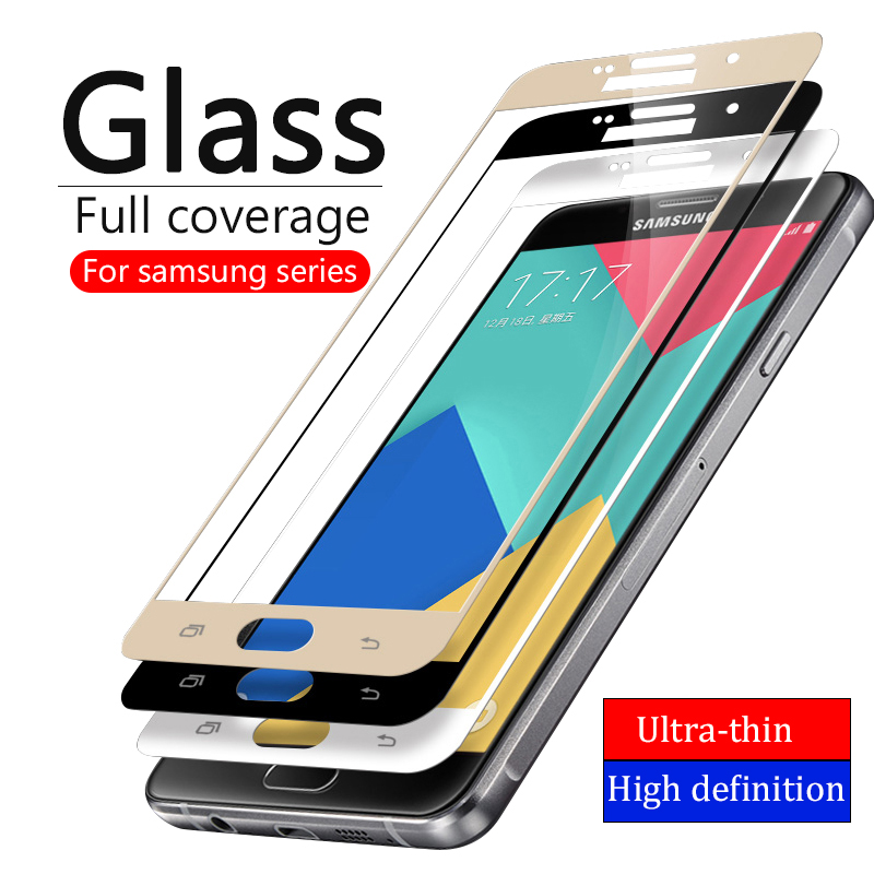 Protective Glass On The For For Samsung Galaxy A5 2017 A3 A7 2016 J5 J2 J7 Prime J3 Note 4 5 Tempered Glas Samsun A J 3 5 7 Film