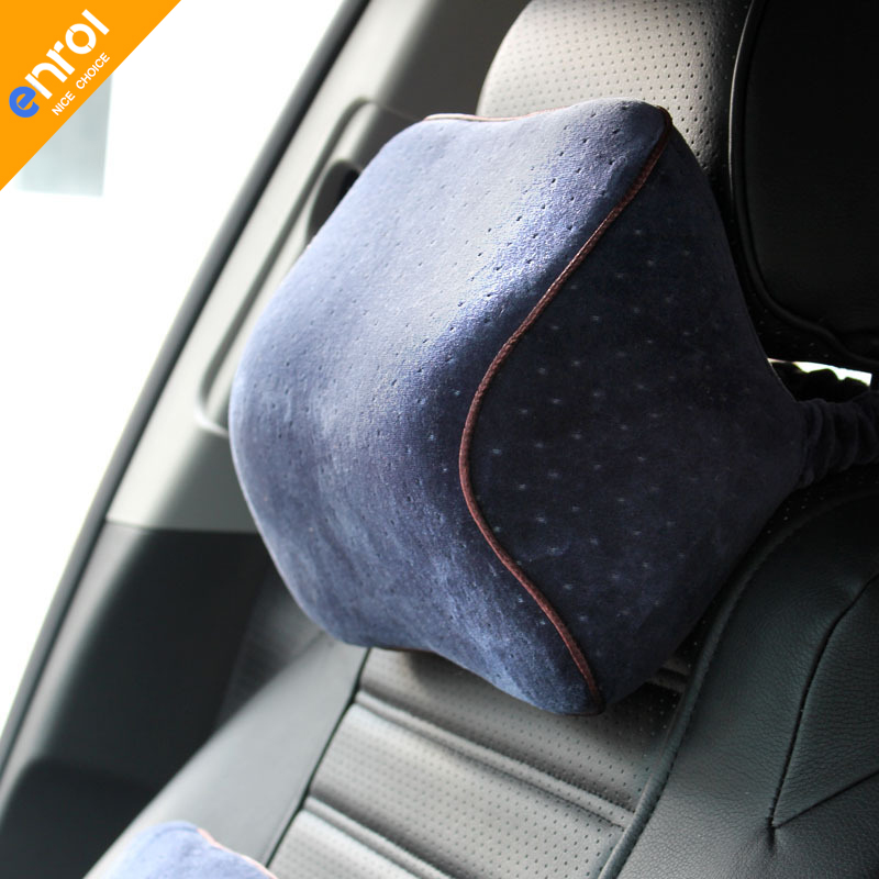 30daded67d7 1pc Velvet Car Head Pillow Space Memory Foam Pillow Comfortable Car Pillow  Head pillow Free shipping Wholesale and retail R-011