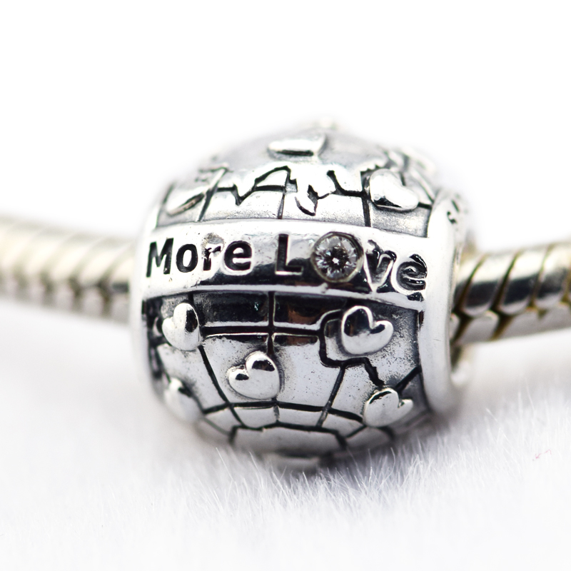 Pandora Jewelry Club: 925 Sterling Silver Jewelry Club Charm 2018, More Love