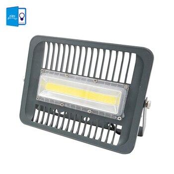 [Dbf] 220 В 110 В Светодиодный прожектор 30 Вт 50 Вт 70 Вт 100 Вт прожектор IP66 водонепроницаемый светодиодный Spotlight светодиодный Наружное освещение ла...
