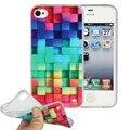 Casos de silício para apple iphone 4s capa shell de borracha protetora tpu casos de telefone celular acessório para iphone 4 coque capinha