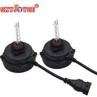 SKYJOYCE xenon HIR2 9012 bulb headlight kit hid projector lens 9012 4300K 6000K levin headlight hir2 9012 5000K hid kit