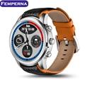 Lemfo lem5 android 5.1 os teléfono smart watch mtk6580 1 gb + 8 GB 1.39 pulgadas de pantalla WIFI GPS Pulsómetro bluetooth SmartWatch