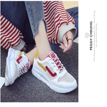 Womens sneakers Korean version ins super fire shoes mesh breathable ulzzang Harajuku wild fashion sports