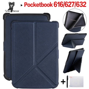 Чехол-подставка для E-reader Pocketbook 616/627/632, для Basic Lux 2/touch Lux/touch HD 3, Ультратонкий чехол + подарок