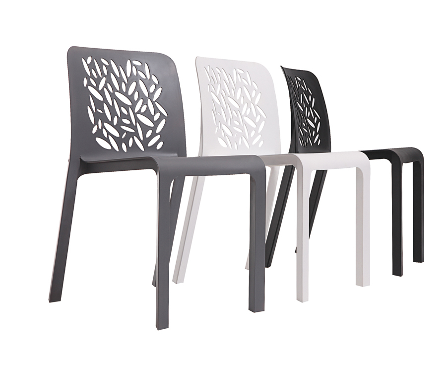 Plastic Outdoor Dining Chairs.Special Outdoor Leisure Modern Minimalist Fashion