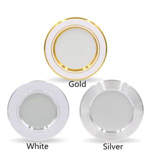 Image 3 - LED Downlight תקרה לבן/לבן חם 5W 9W 12W 15W 18W led תקרת מנורה עגול שקוע AC 220V 230V 240V חדש סוג Downlight