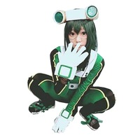 2016 Anime My Hero Academia Asui Tsuyu Boku No Hero Academia Cosplay Costume Customize