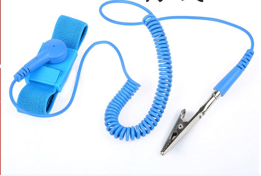 Wired Anti-static Ring, Electronics Factory Anti-static Wrist Strap, Anti-static Rope Board.