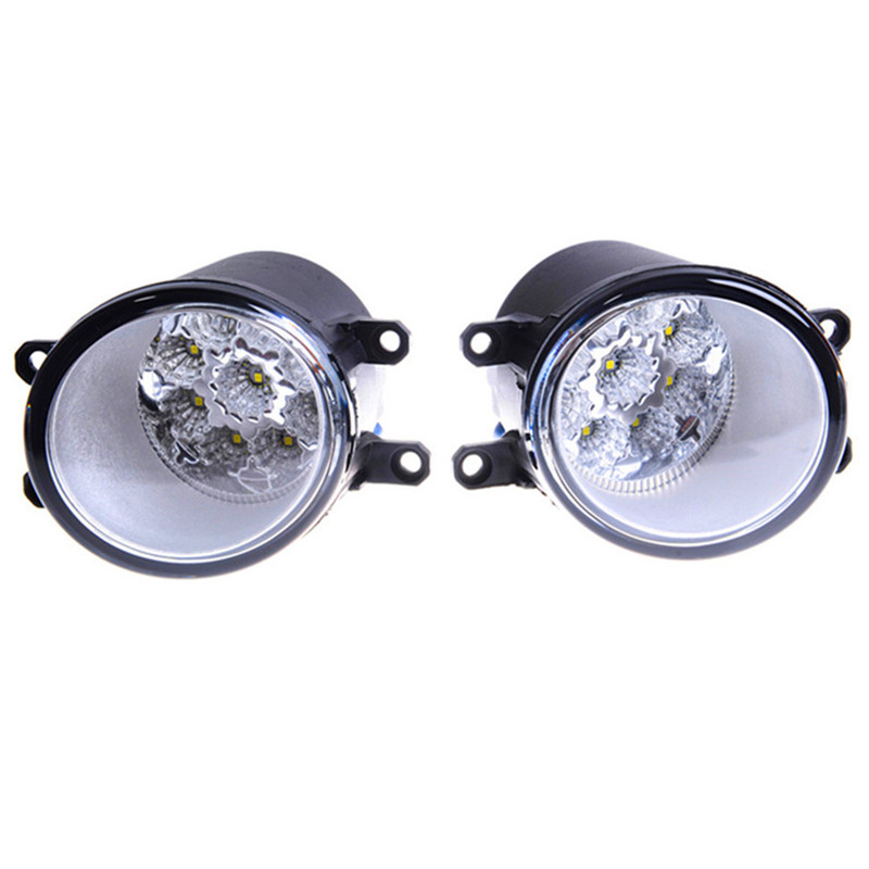 Pour Toyota Allion Prius Yaris Auris Previa Vios yaris 2006-2014 Haute Luminosité Brouillard Assemblage De La Lampe Led Feux de Brouillard 12 w 2 pcs