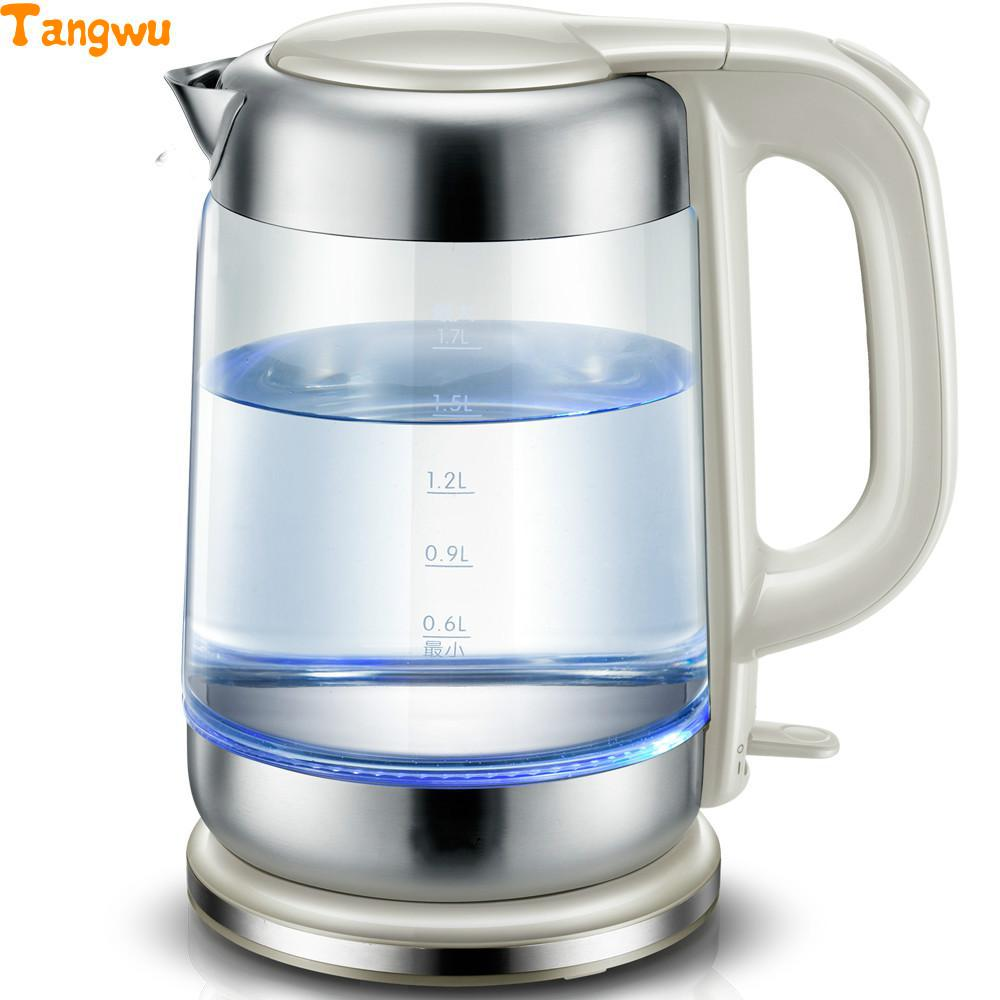 Free shipping Glass electric kettle Domestic large capacity power automatic stainless steel цены онлайн