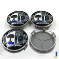 Tampa da roda de cor apple tree padrão modificado amg roda material abs cobrir 75mm personalizado decorativo tampa do cubo jsd-3782
