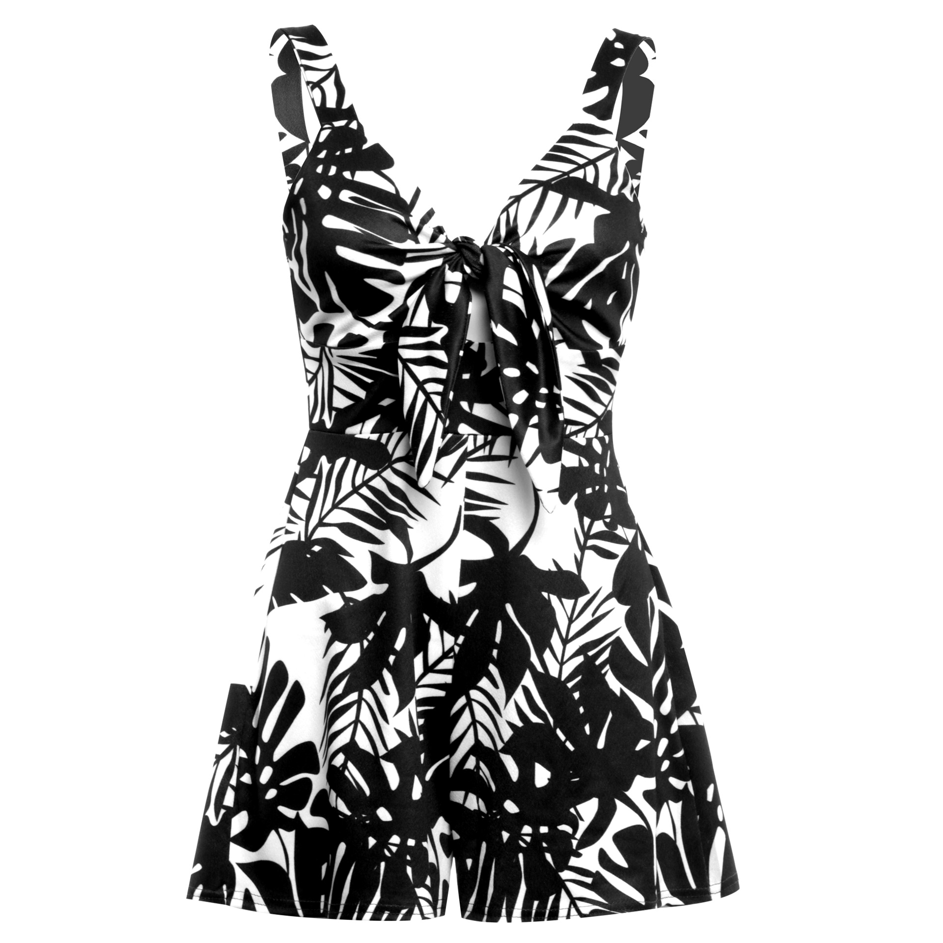 Women's Summer Print Jumpsuit Shorts Casual Loose Short Sleeve V-neck Beach Rompers Sleeveless Bodycon Sexy Party Playsuit 103