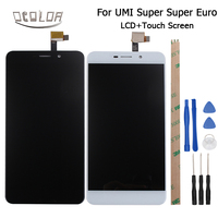 5 5inch For Umi Super Super Euro LCD Display Touch Screen 100 Original Screen Digitizer Assembly