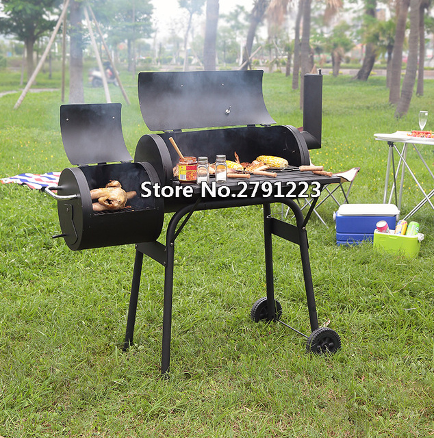 outdoor bbq grills. Outdoor BBQ Grill Garden American Charcoal Household Smoked Stove Bbq Grills T