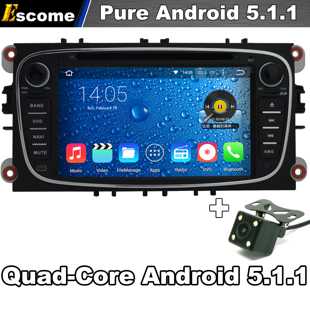 android 5 1 capacitive car dvd player radio stereo for. Black Bedroom Furniture Sets. Home Design Ideas