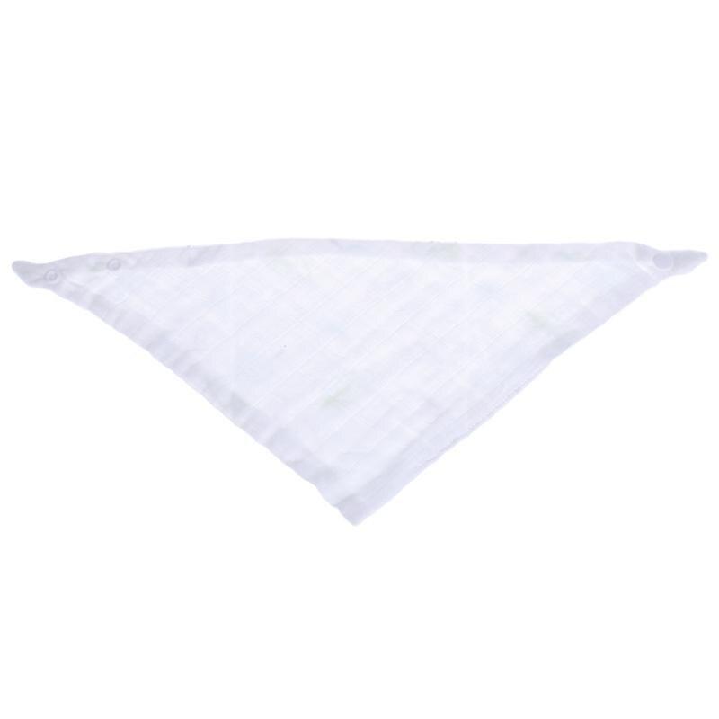 Triangle Baby Saliva Towel Soft Cotton Gauze Kids Infant Head Scarf Bandana Feeding Bibs Burp Cloth Newborn Saliva Towel Bibs
