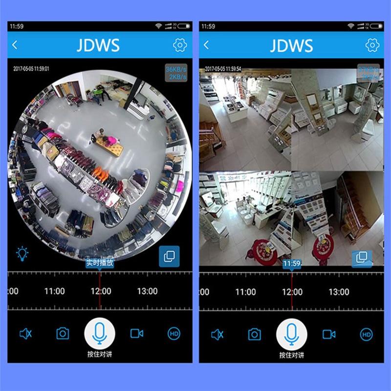 CCTV panoramic smart camera 4