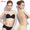 2016 Women's Seamless Strapless Bra for Wedding Dress with Two Back Straps