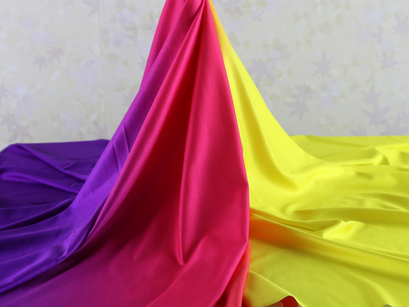 Spandex Fabric Shaded Gradient Material For Evening Dress 4 Way Stretch Material for Latin Clothing Lycra Knit Fabric