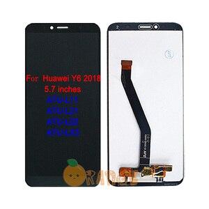 Image 4 - Neue LCD Display Sensor Für Huawei Y6 SCL L01/ Y6 2017 MYA L11/ Y6 2018 ATU L11 ATU L21/ Y6 2019 touchscreen Digitizer Montage