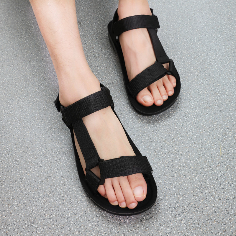 Plus Size 44 Beach Sandals Women Men Summer Flat Sneakers Aqua Shoes Water Shoes Barefoot Vietnamese Slippers Zapatos De Mujer
