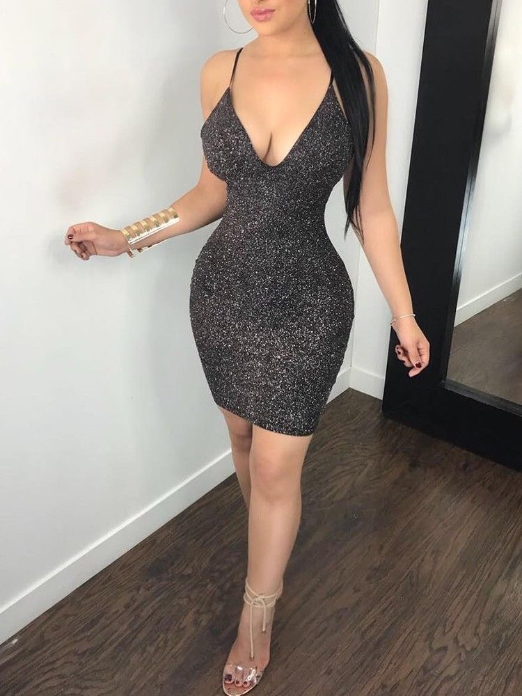 2019 Fashion Sexy Women Bandage Bodycon Sleeveless Evening Sexy Party Mini Dress Clubwear Hot Backless Vestido
