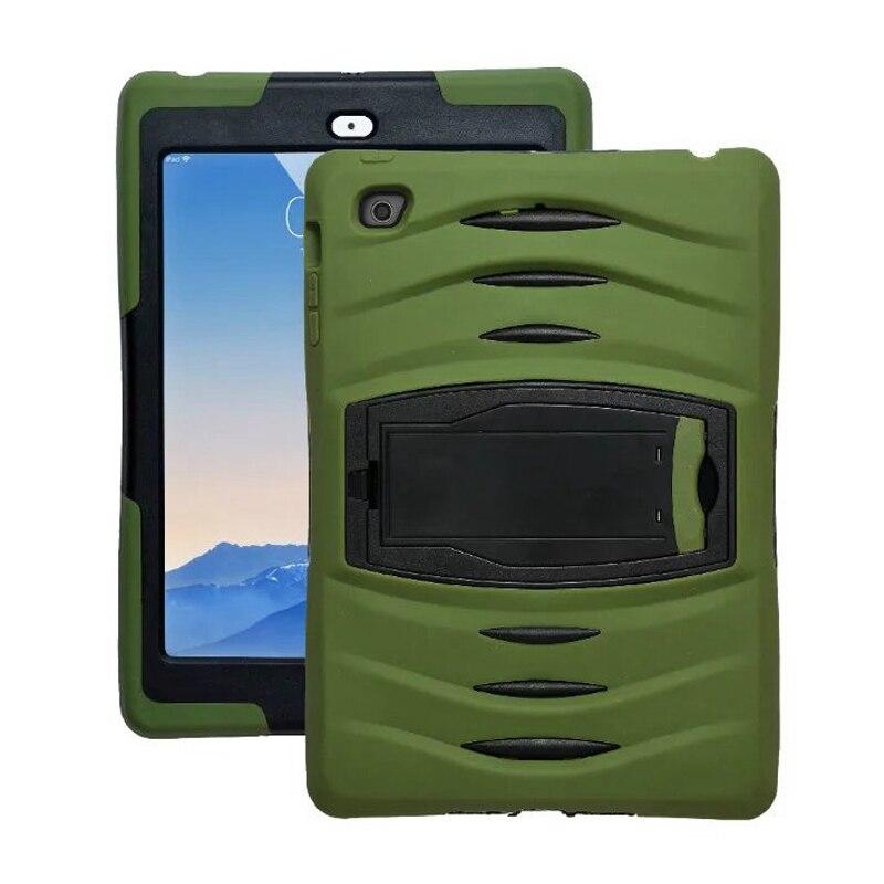 Чехол для Apple IPad Air2 IPad 6 Pad чехол принципиально Tablet кремния и PC Броня Dazzle Гибридный стенд для Apple IPad 6 чехлы чехол сумка ...