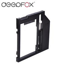 Universal Plastic 9mm 2nd HDD Caddy Hard Disk Drive Enclosure 2.5″ SSD HDD Case For Laptop 9mm 9.5mm DVD/CD-ROM Optical Bay