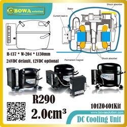 R290 DC hydrocarbons compressor are designed for low evaporating temperatures (LBP) and medium evaporating temperatures (MBP)
