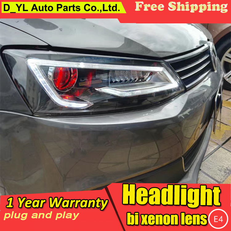Car Styling Headlights For For Vw Jetta 2012 2017 Led