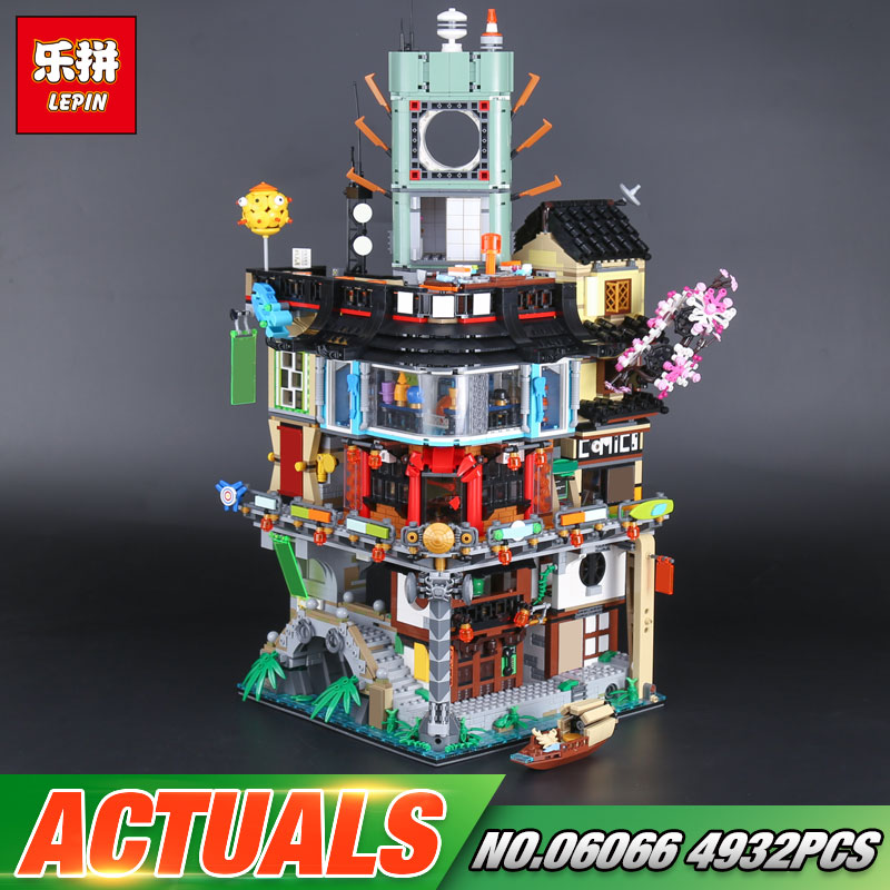 DHL Lepin 06066 Building Toys Series The 70620 Warrior City Set Building Blocks Bricks Assembly Kid Toys Christmas Birthday Gift 407pcs sets city police station building blocks bricks educational boys diy toys birthday brinquedos christmas gift toy