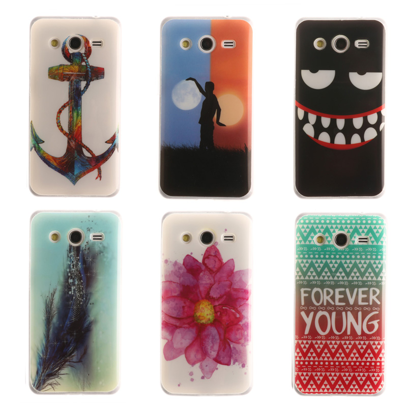 Soft Cover for For Samsung Galaxy core 2 core2 ii G355H G355 Case TPU Back Cover Cell Phone Accessories Case for Sumsung Core 2
