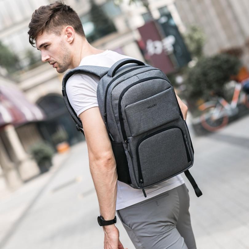 BALANG Marke 2019 Neue Laptop Rucksäcke für 15,6 zoll Männer Rucksäcke für Jugendliche Wasserdichte Rucksack Schule Taschen Reise Rucksack-in Rucksäcke aus Gepäck & Taschen bei  Gruppe 3