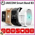 Jakcom b3 banda inteligente nuevo producto de pulseras como id105 inteligente muñeca banda reloj de fitnes