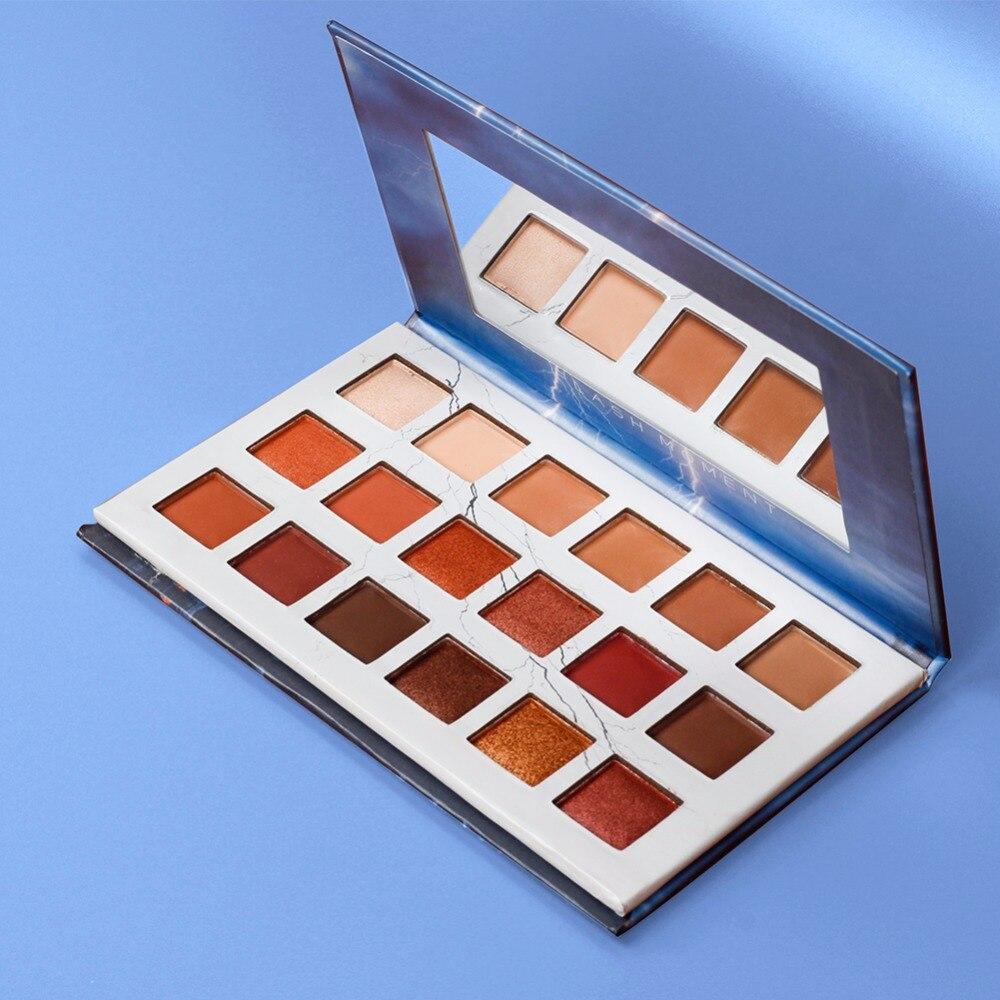 Girls Sweet Shimmer Matte Pigment Glitters Makeup Sunset Eye Shadow