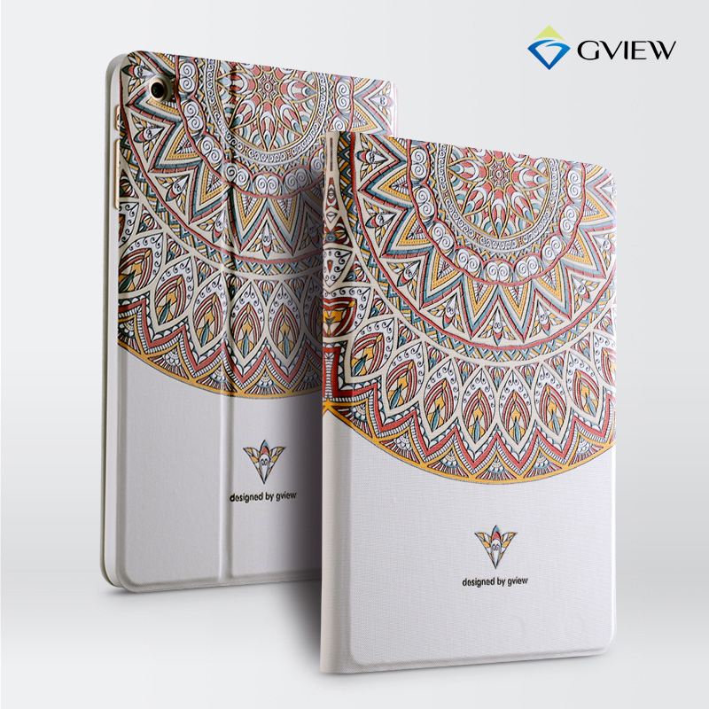 Gview Case For Ipad Mini 3 2 Embossed Luxury Designer Smart Stand Embossing Cover In Fashion Style Tablets E Books From