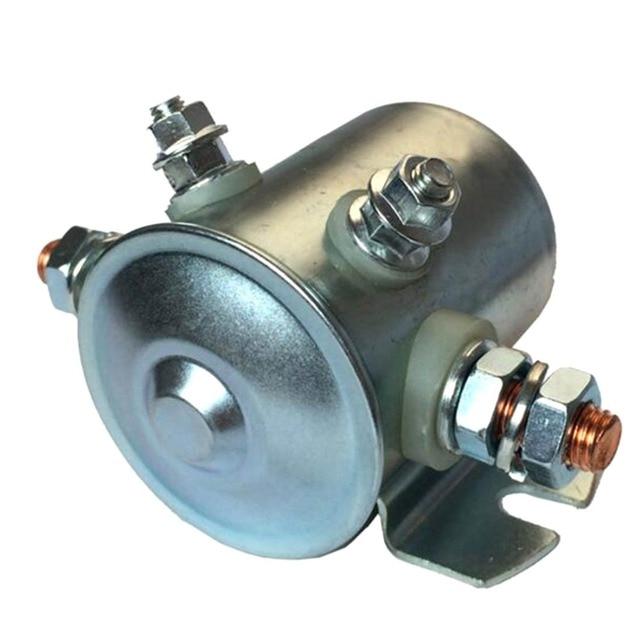 12 v 200A Relé de Arranque Placa Cauda Início Interruptor Magnético Relé W800801 1 Empilhadeira Elétrica Da Bomba de Óleo DC Contator 65mm x 70mm