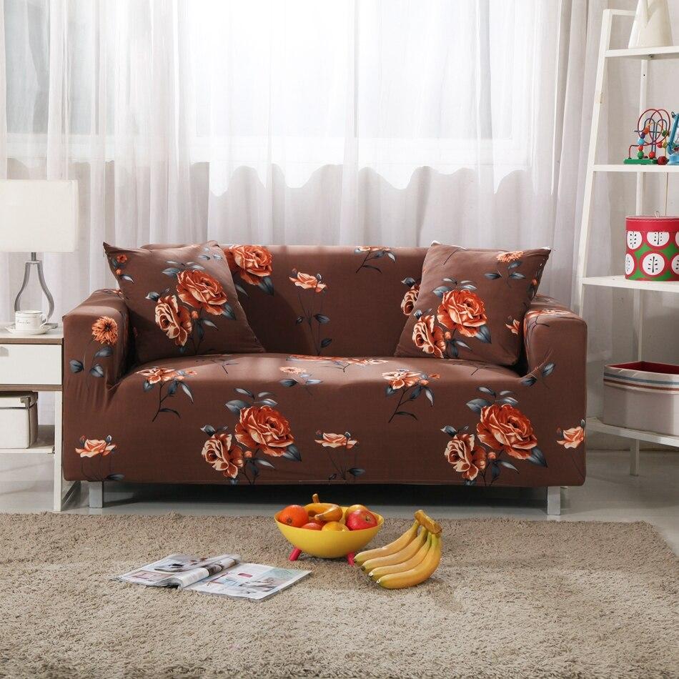 Tienda Online Brown Universal Estiramiento Muebles Tapas Para Sala  # Muebles De Sala