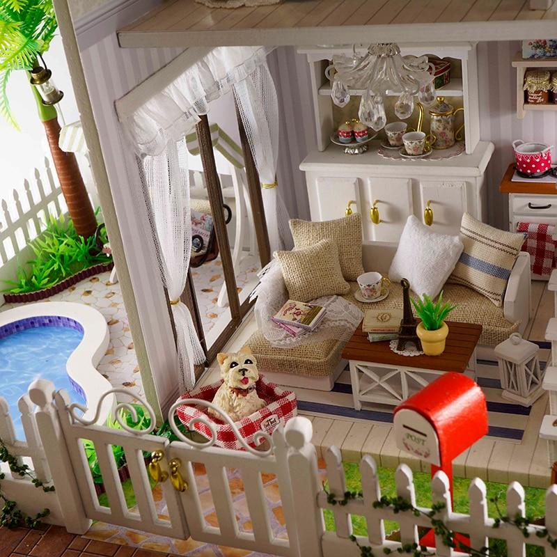 diy Laotian dollhouse handmade