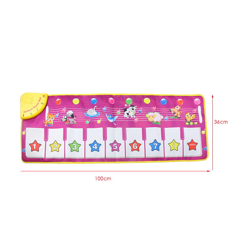 4-Design-Music-Blanket-Musical-Learning-Mat-Colorful-Animal-Farm-Flash-Play-Mats-Baby-Toys-Music-Carpet-Touch-Toy-for-Baby-Kids-2