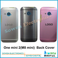 for HTC One mini 2 ( One M8 mini )Back cover Battery Door housing Aluminum case, black or white or pink , new