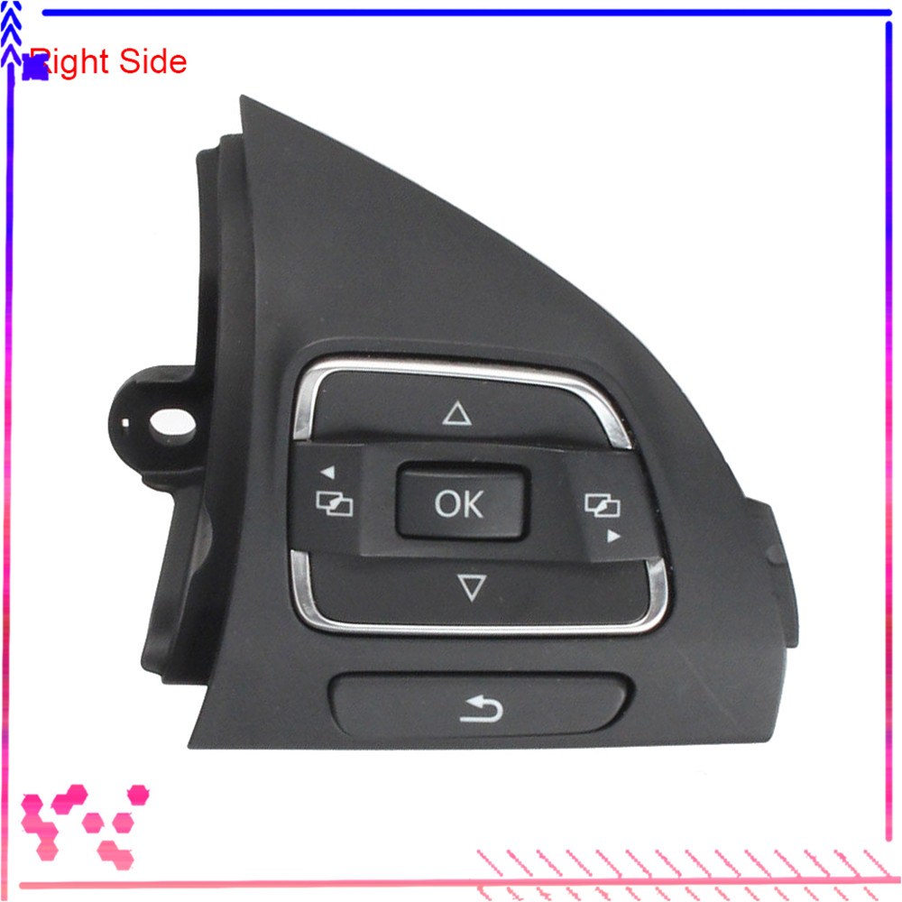 Right Side MFSW Multifunction steering wheel control button audio switch phone button For VW Jetta Golf MK6 Caddy Tiguan CC Eos