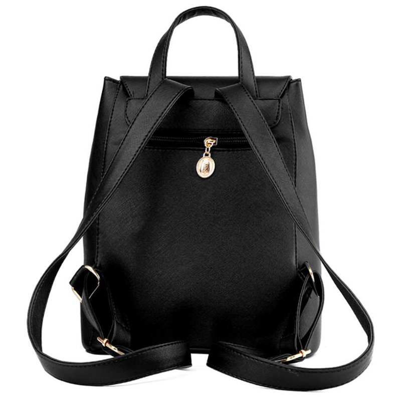 HTB1Uh7Him3PL1JjSZFtq6AlRVXaN Ainvoev Bookbag Women Backpack Fashion Girls Leather Backpack Candy Color Teenage School bag Mochila High Quality Satchel