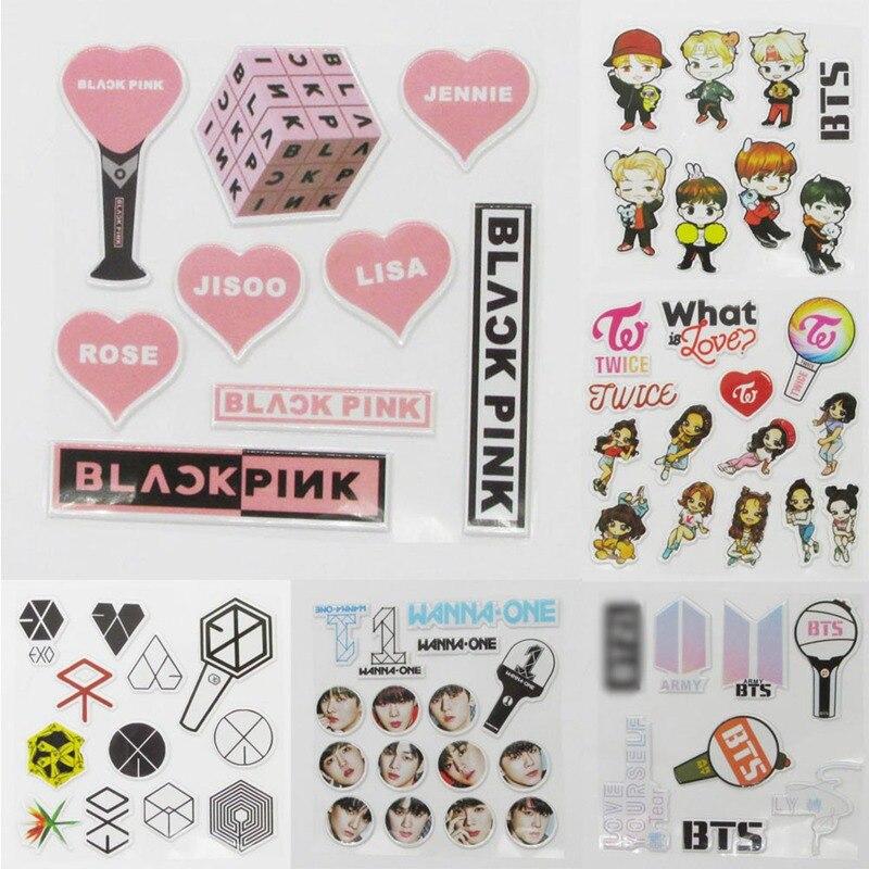 αγορά χαρτικά αυτοκόλλητα New Arrival Bts Exo 3d Photo Stickers