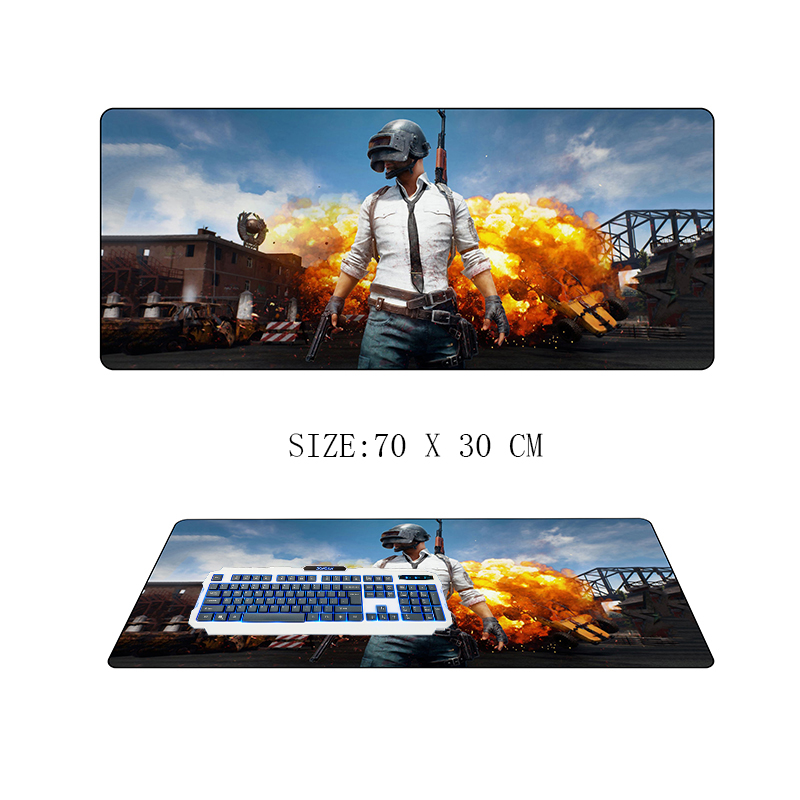 70x30cm large PUBG mouse Pad Playerunknown's Battlegrounds gamer gaming mousepad keyborad mouse mat winner winner Chicken Dinner цена 2017